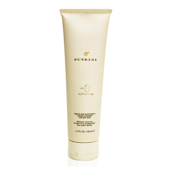 Sundari Omega 3 & White Birch Cream Cleanser (120ml)