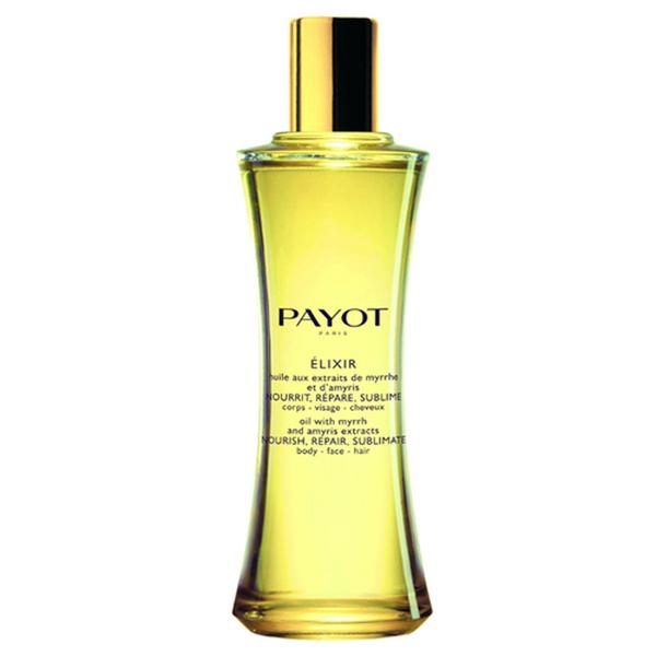 PAYOT Elixir Huile aux Extraits de Myrrhe et d'Amyris Corps-Visage-Cheveux (100ml)