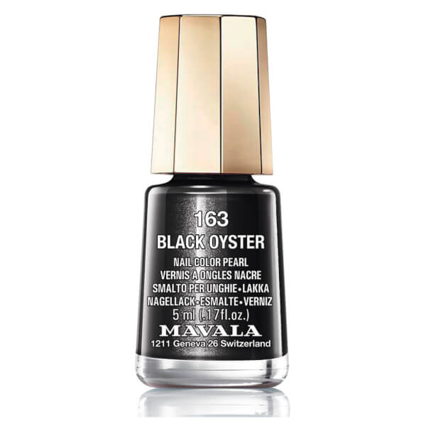 Mavala Black Oyster Nail Colour (5ml)