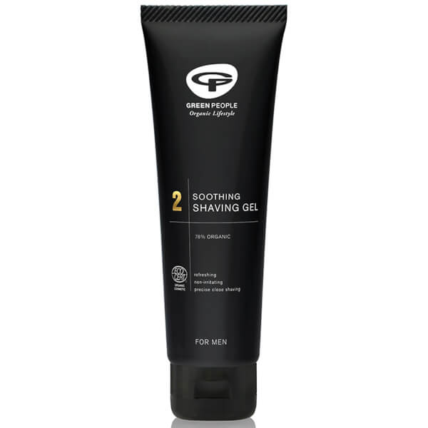 Gel Shave Now & Shave Organic Homme 2 par Green People (125ml)
