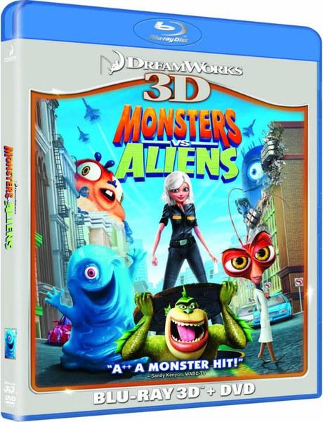 Monstres contre Aliens 3D (+2D)