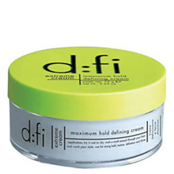 Crème coiffante fixationextrêmede d:fi75g