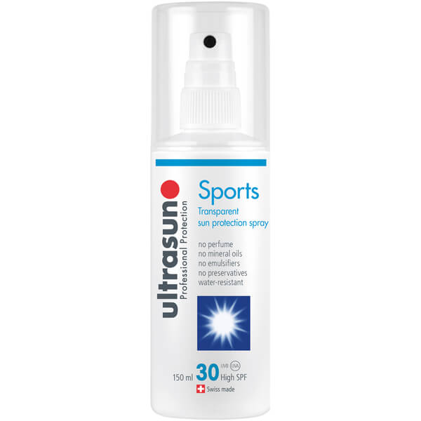 ULTRASUN CLEAR SPRAY SPF30 - SPORTS FORMULA (150ML)