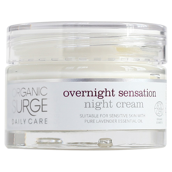 Organic Surge Daily Care Overnight Sensation Night Cream (50ml)