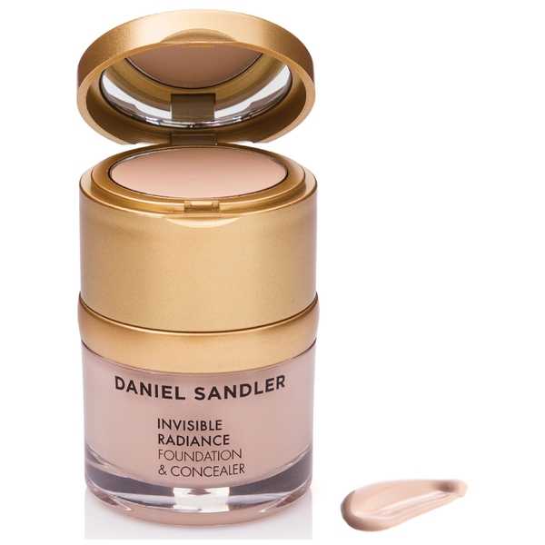 Daniel Sandler Invisible Radiance Foundation und Concealer - Porcelain