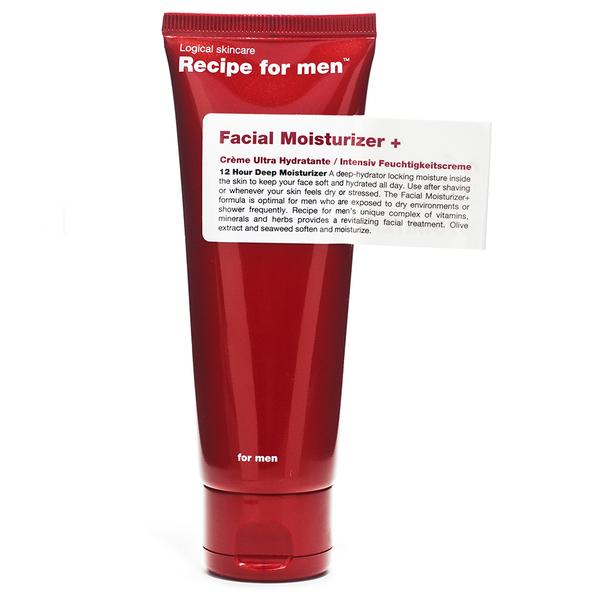 Recipe for Men - Hydratant visage75ml