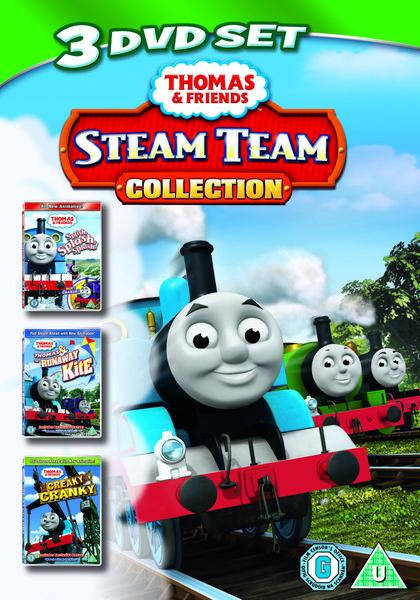 Steam Team Collection (Splish, Splash, Splosh / Runaway Kite / Creaky Cranky)