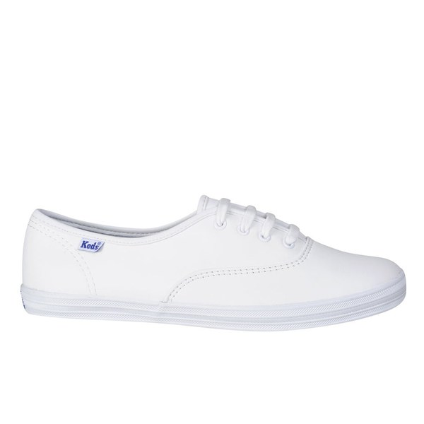 Keds Women's Champion CVO Leather Trainers - White