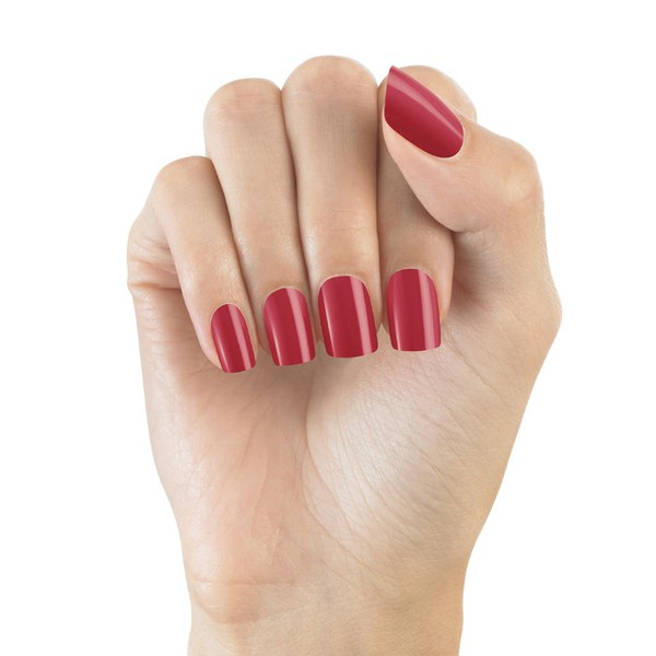 faux ongles rouge
