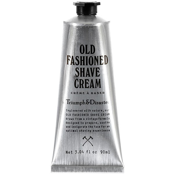 Tubo de crema de afeitar Old Fashioned de Triumph & Disaster 90 ml