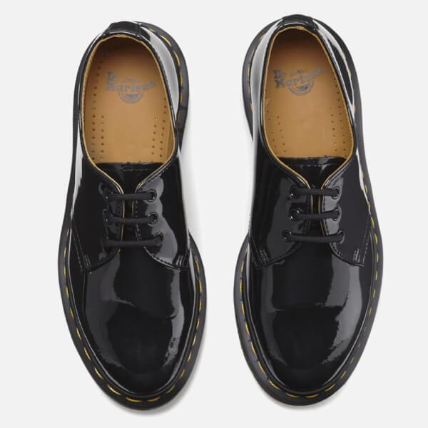 43e7205cec Dr. Martens Women s 1461 Patent Lamper 3-Eye Shoes - Black  Image 2