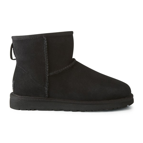UGG Women's Classic Mini Sheepskin Boots - Black