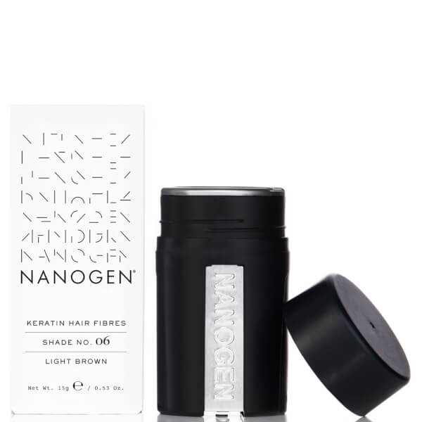 Nanogen Hair Thickening Fibres Light Brown (15g)