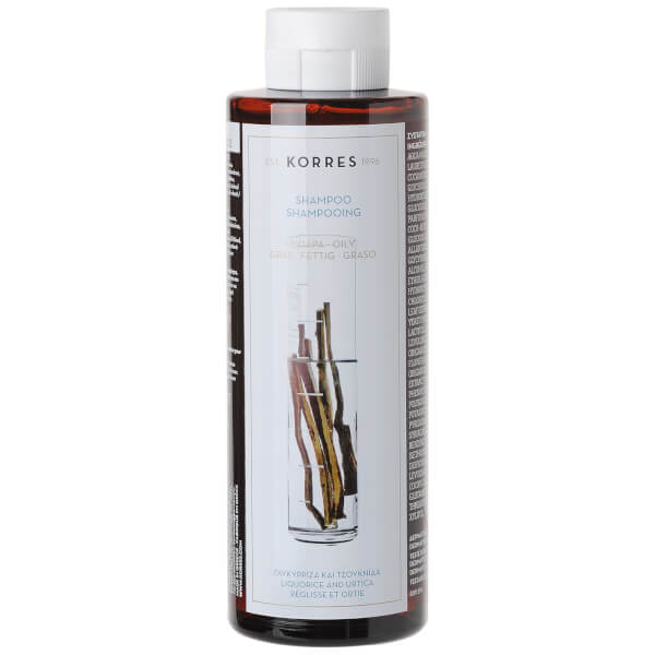 KORRES Shampoing Liquorice and Urtica pour cheveux gras (250ml)