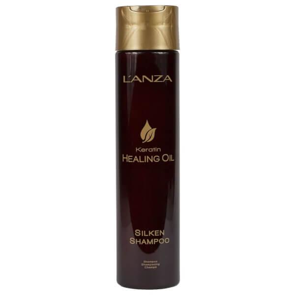 L'Anza Keratin Healing Oil Silken Shampoo (300ml)