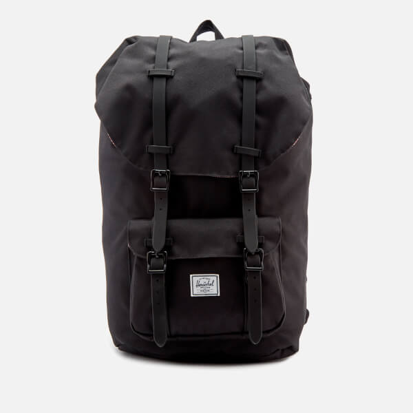 Herschel Supply Co. Men's Little America Backpack - Black Rubber
