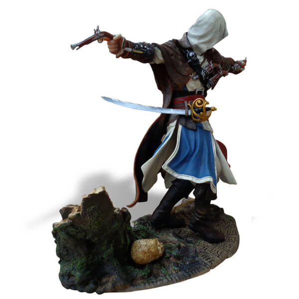 Assassin's Creed Pirate Edward Kenway Statue | IWOOT