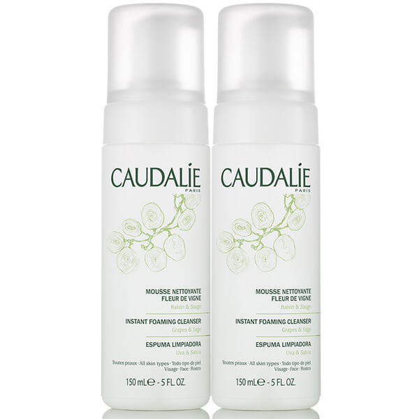 Caudalie Duo Foaming Cleanser (2 x 5.2oz)