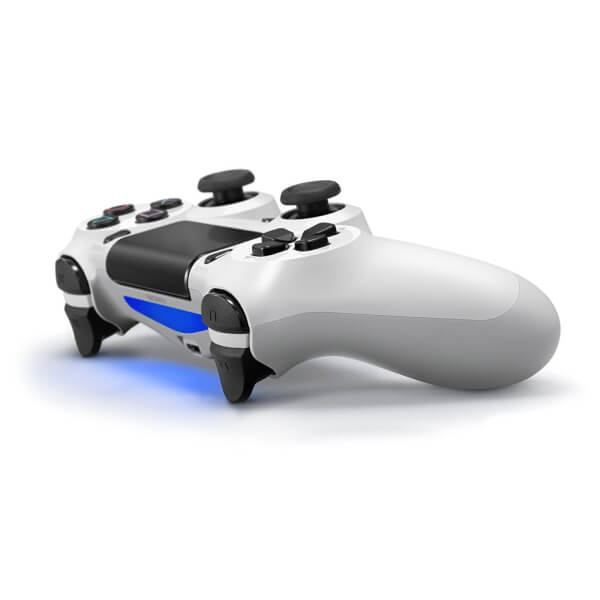 sony playstation 4 controller. sony playstation 4 dualshock controller - white: image 5 playstation