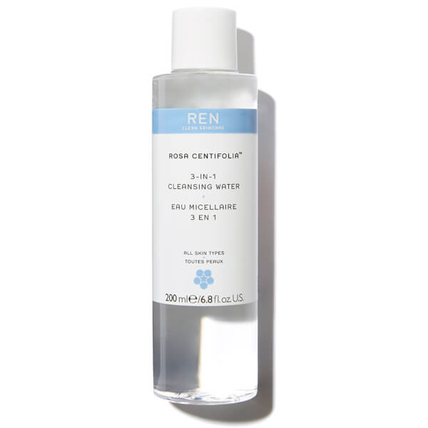 REN Rosa Centifolia eau micellaire 3 en 1 (200ml)
