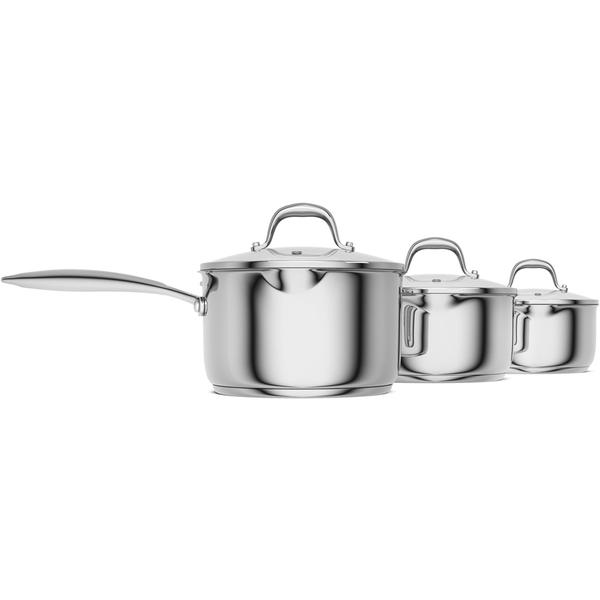 Morphy Richards Pots And Pans: Morphy Richards 79804 Pro Pour 3 Piece Pan Set