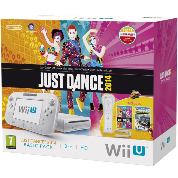 Wii U Just Dance 2014 Basic Pack (LIMITED)