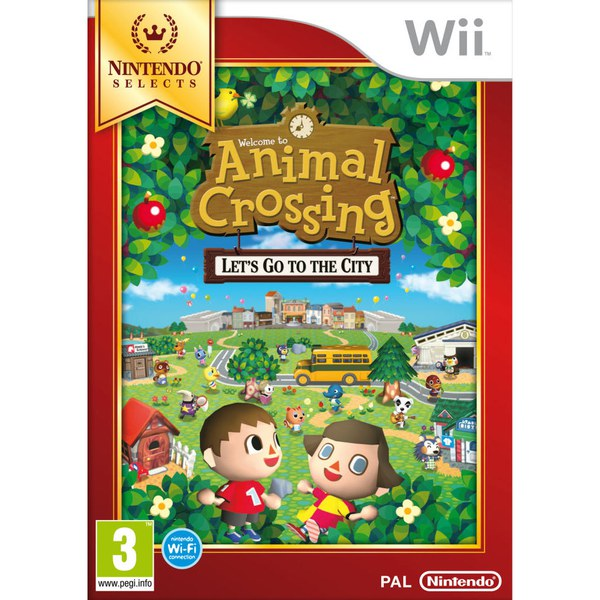 Wii Nintendo Selects Animal Crossing™: Let's Go To The City
