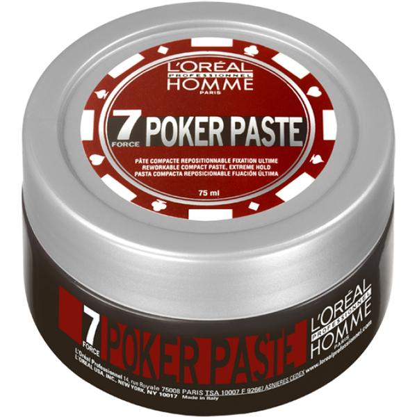 Pâte modelante L'Oreal Professional Homme Poker (75ml)