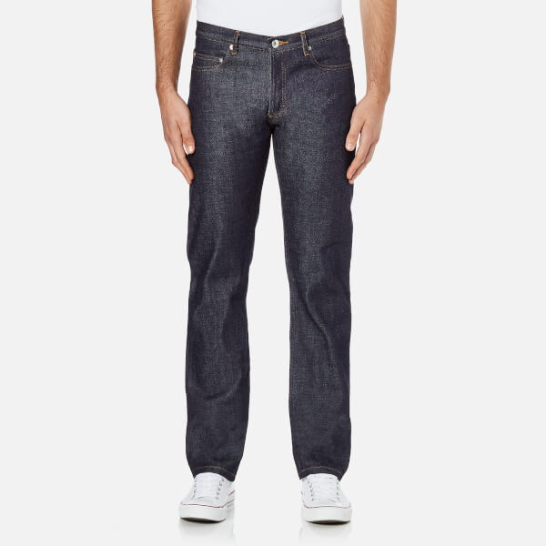 A.P.C. Men's New Standard Mid Rise Jeans - Selvedge Indigo