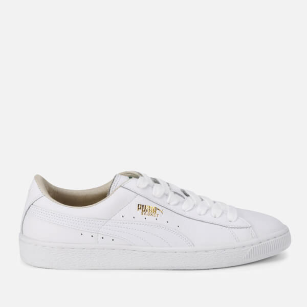 Puma Men's Basket Classic Trainers - White