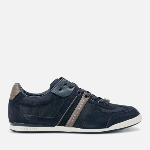 BOSS Green Men's Akeen Trainers - Open Blue