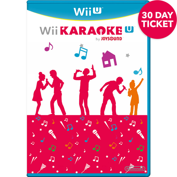 Wii Karaoke U by JOYSOUND 30 Day Ticket - Digital Download