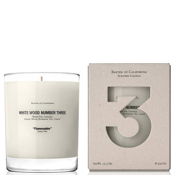 Bougie parfumée Baxter of California - bois blanc numéro 3