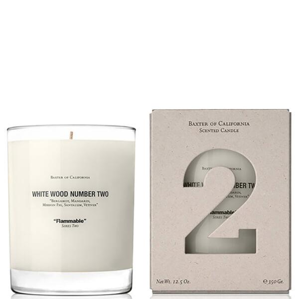 Bougie parfumée Baxter of California - bois blanc numéro 2