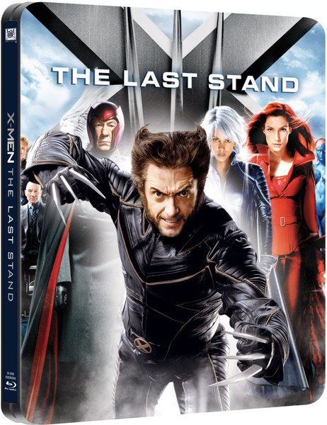 X Men 3 Steelbook Edition Blu Ray Zavvi