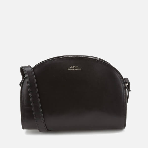 A P C Women S Demi Lune Bag Black Image 1
