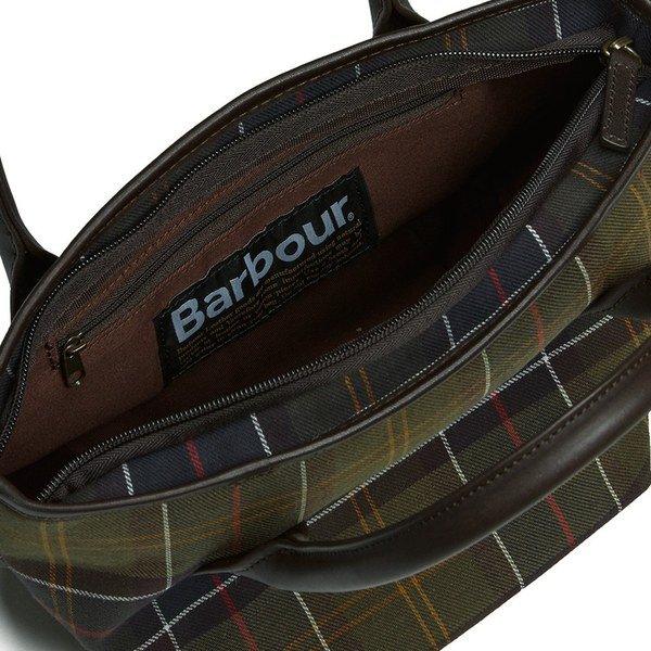 Barbour Tartan Tote Bag Classic Image 6