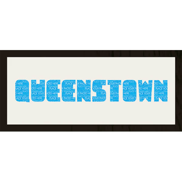 GB Cream Mount Queenstown Photo Font - Framed Mount - 12