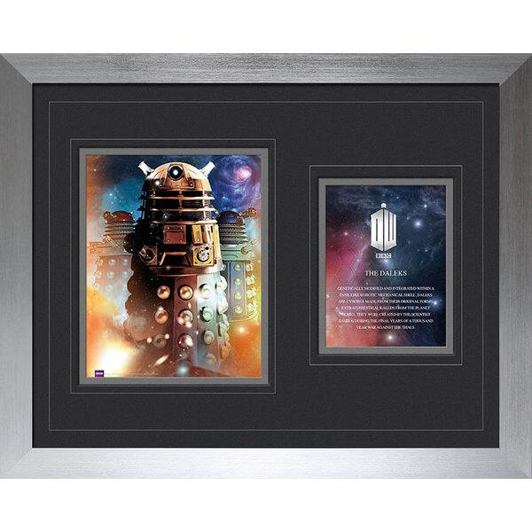 Doctor Who Daleks - High End Framed Photo - 16