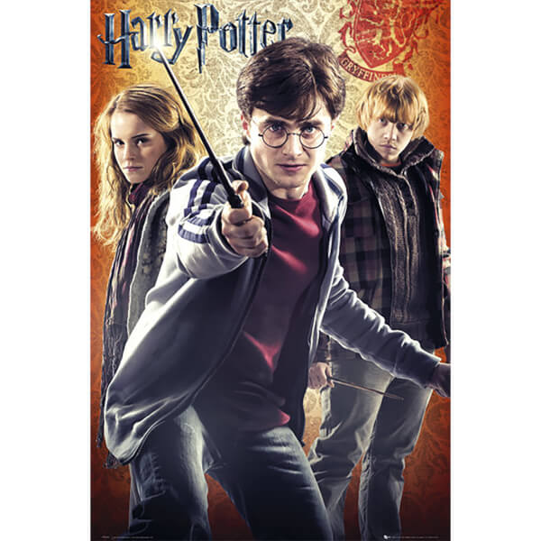 Harry Potter 7 Trio - Maxi Poster - 61 x 91.5cm