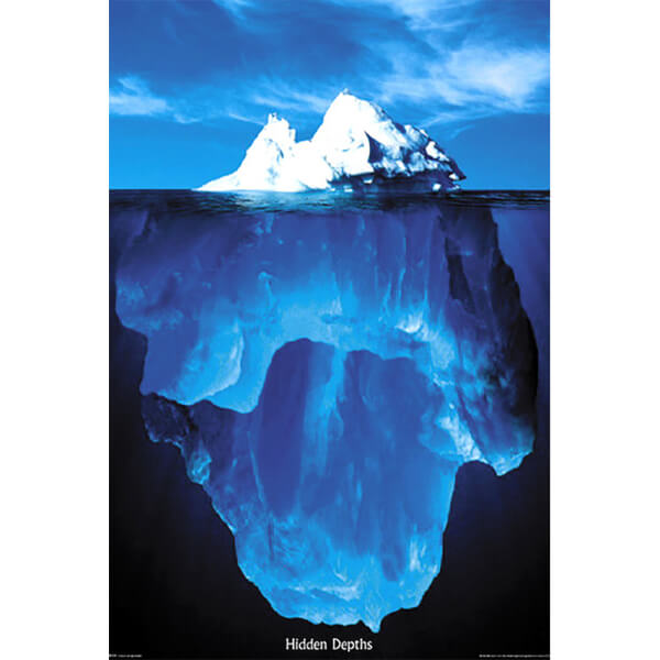 Hidden Depths - Maxi Poster - 61 x 91.5cm