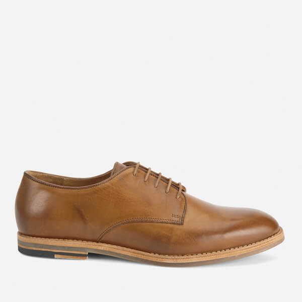 Hudson London Men's Hadstone Leather Plain-Toe Shoes - Tan