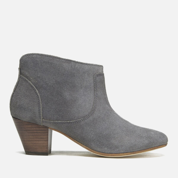 Hudson London Women's Kiver Suede Heeled Ankle Boots - Slate