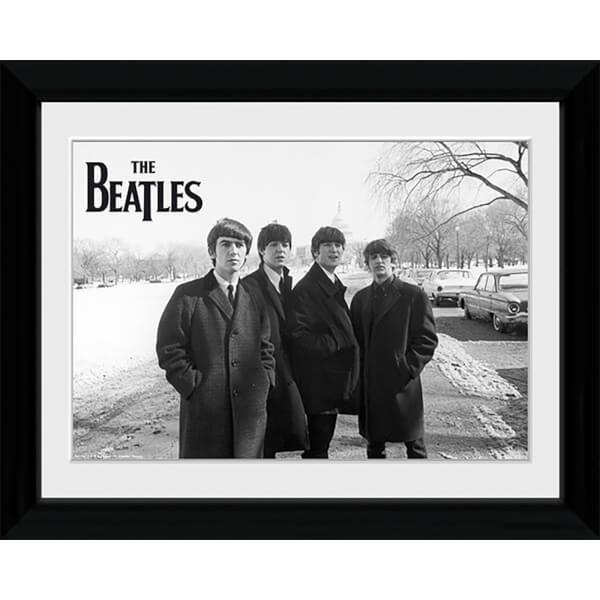 The Beatles Capitol Hill - Collector Print - 30 x 40cm