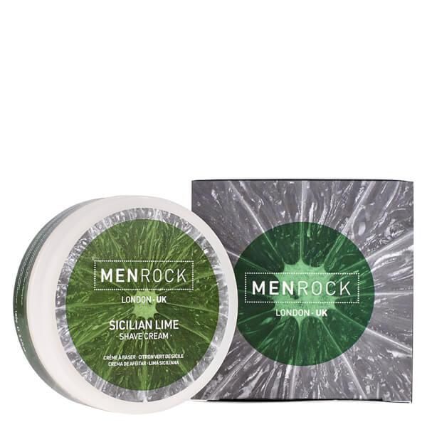 Men Rock Sicilian Lime Shave Cream (3.4 oz)