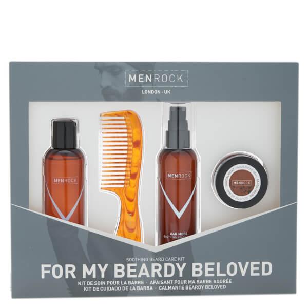 The Men Rock Beardy Beloved Kit (Worth $56)