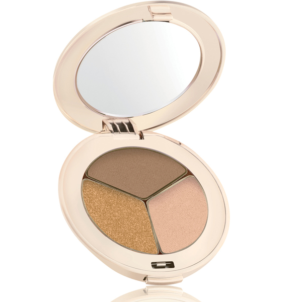 jane iredale PurePressed Triple Eyeshadow Golden Girl