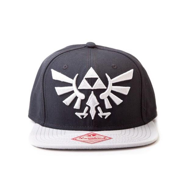 The Legend Of Zelda - Snapback Cap (Black/Grey)