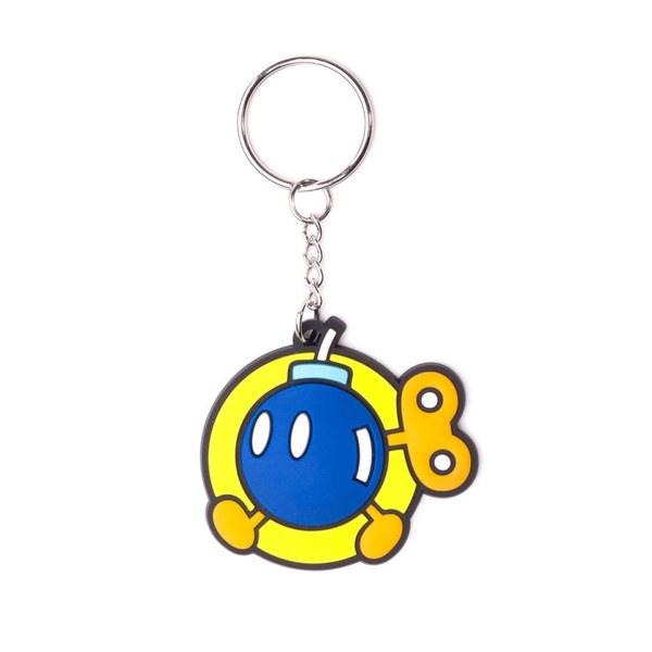 Bob-omb - Rubber Keychain