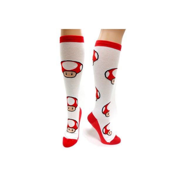 Super Mushroom - Knee High Socks